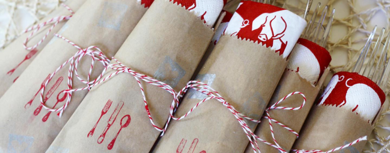 Детский праздник: как сложить бумажные салфетки?