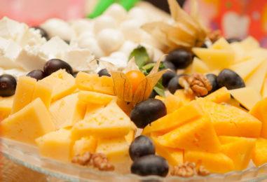 20 праздничных канапе с сыром (часть 1)