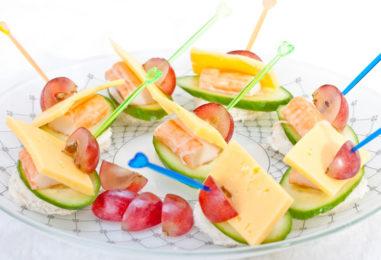 Канапе с сыром — 20 праздничных рецептов с картинками (часть 2)