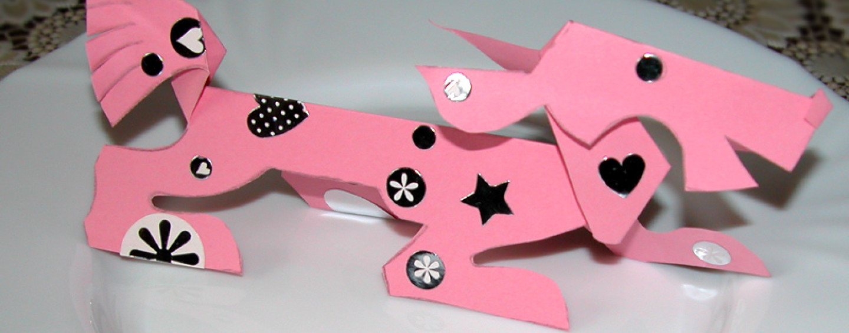 Игрушки из бумаги: выкройки объемных игрушек, мастер-класс по оригами (меч, лягушка) и многое другое