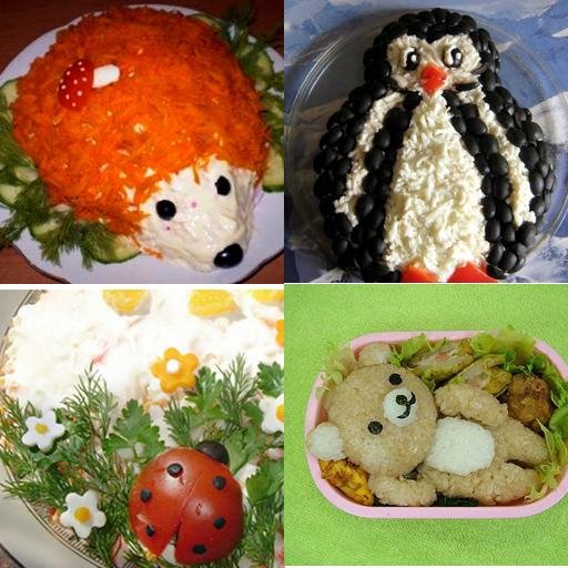 Украшения блюд на детский день рождения.(Фото) 78