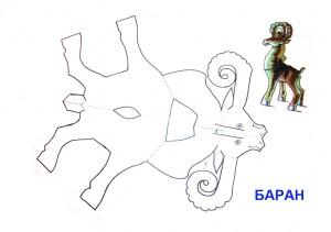 Лось аристотель из бумаги схема