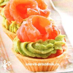 бутерброды с авокадо и семгой рецепты с фото