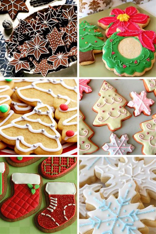печенье для украшения стола
