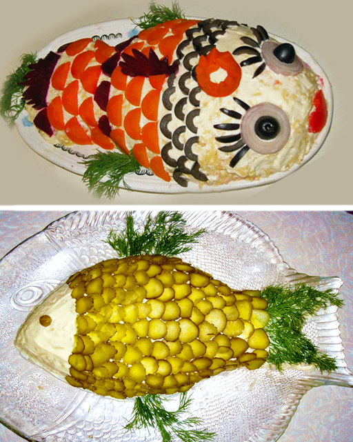 Блюд своими руками на природе
