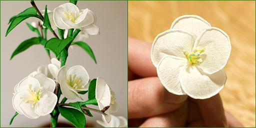 Цветок из гофры своими руками