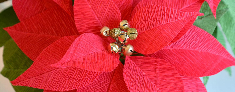 Цветы из гофрированной бумаги для праздничного оформления