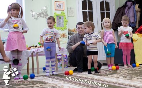 Конкурсы для детей на 4-лет