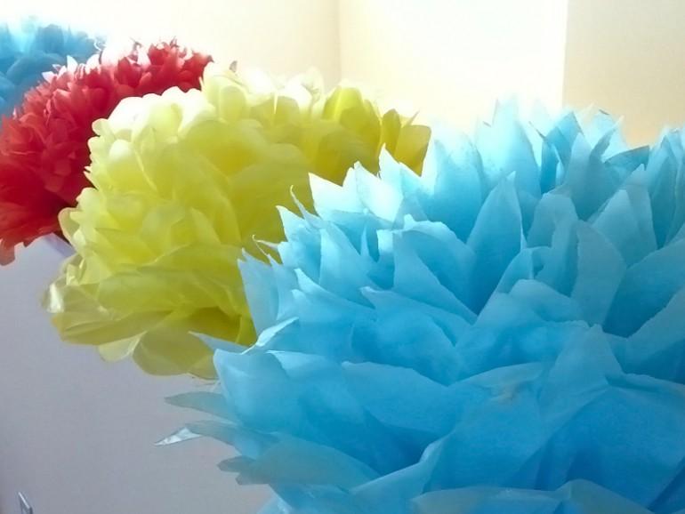 Цветы из гофрированной бумаги. 10 лучших мастер-классов!