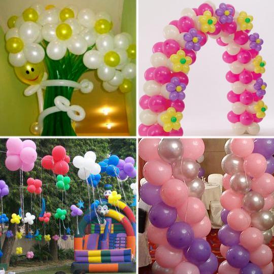 Что можно сделать воздушных шаров