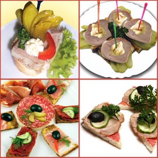 Бутерброды на праздничный стол  90 рецептов с фото