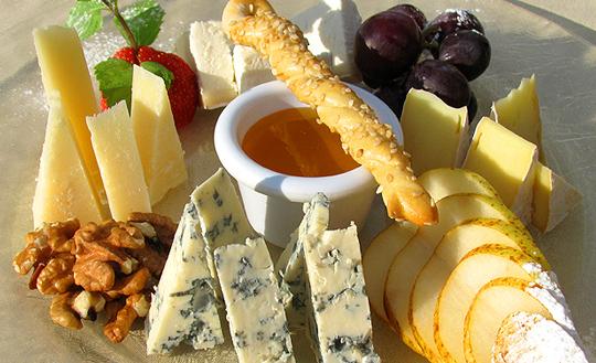 как украсить сырную тарелку фото