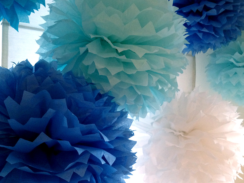 Объемные шары из бумаги своими