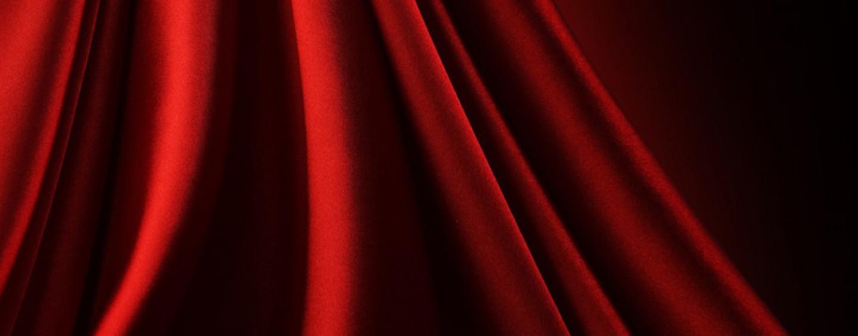 Оформление зала тканью: шик в аренду