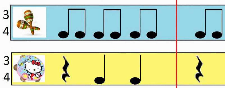 Детский шумовой оркестр