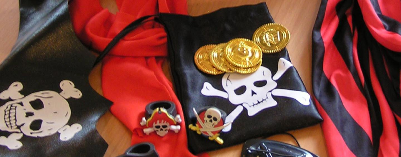 Костюмы и реквизит для пиратской вечеринки (макеты для печати)