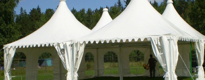 Аренда шатров для праздника