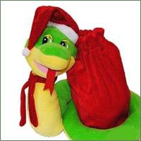 сладкие подарки в упаковке-игрушке
