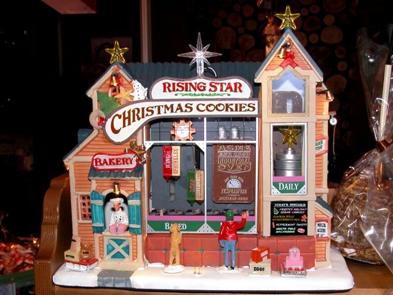 детали для рождественского кендри-бара