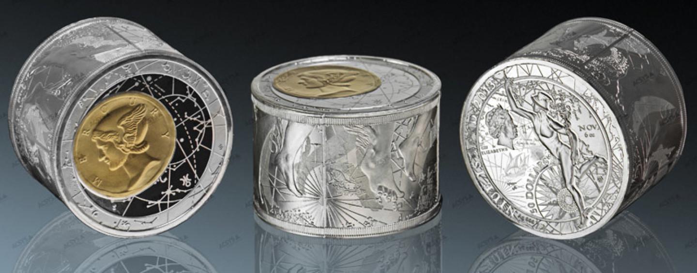 Чеканим монеты на празднике — необычный сувенирный аттракцион