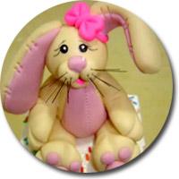 пасхальный заяц матика