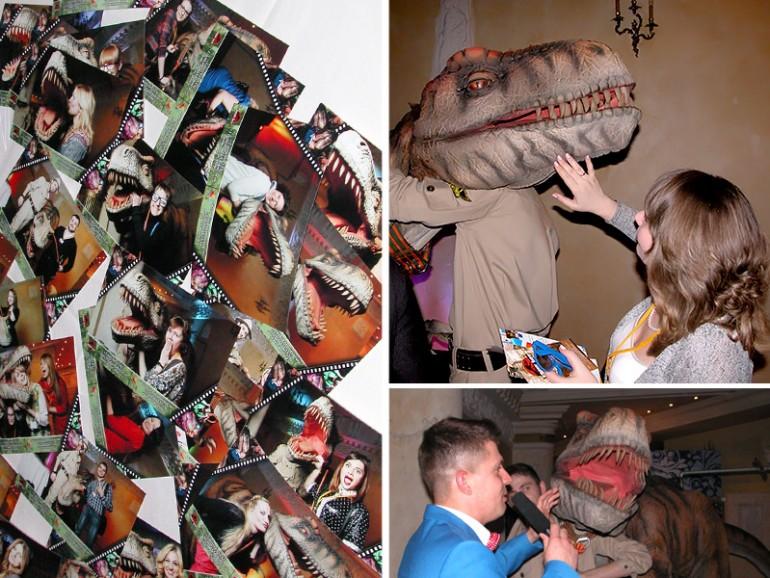 динозавры для фотосессии