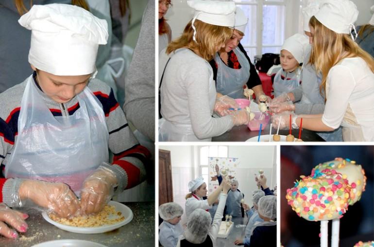кулинарный мастер-класс на детском празднике