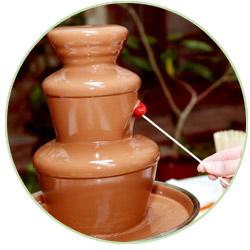 шоколадный фонтан на детском празднике