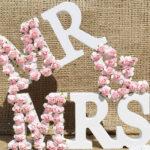 Объемные буквы для праздничной фотосессии: фантазии с календарем