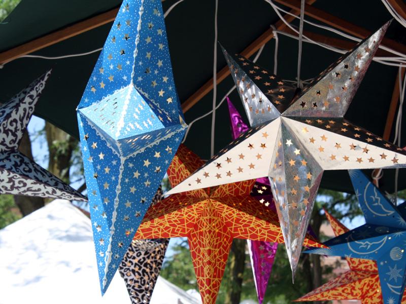 звезды для декора