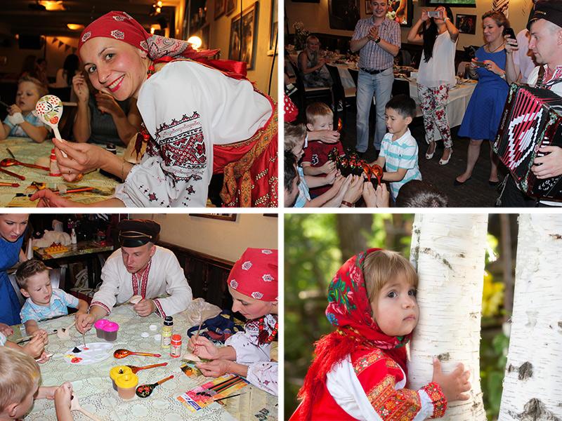 детские мастер-классы в русском стиле