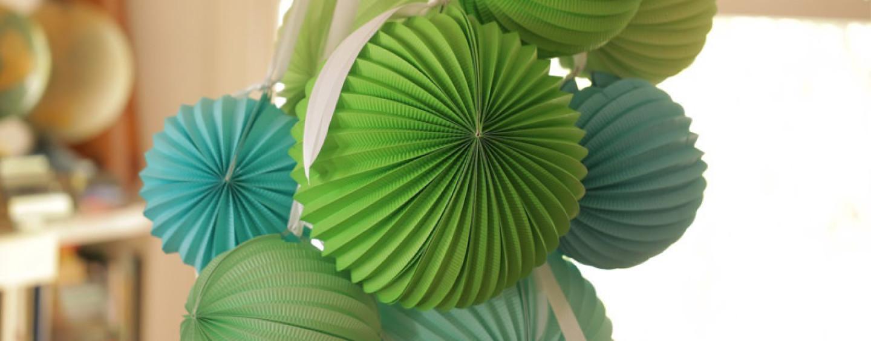 Мастер класс бумажные шары для украшения