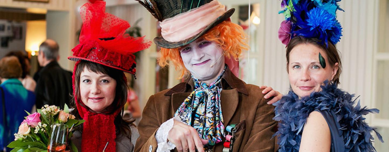 Выездная костюмерная: фотосессия на празднике со всеми удобствами
