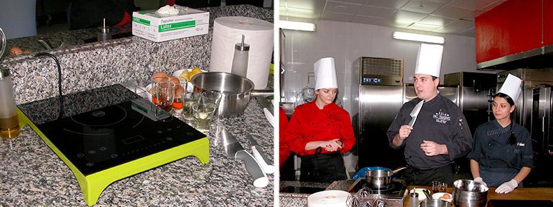 рабочее место для приготовления блюд