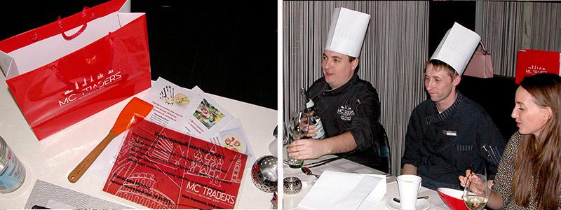 награждение победителей на кулинарном мастер-классе