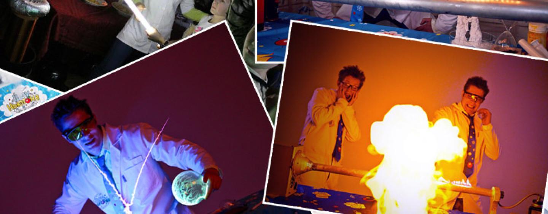 Шоу Ньютона: научные интерактивные программы для детей