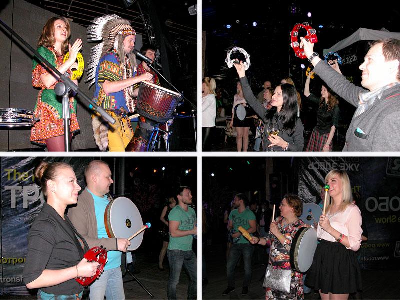 ритмосфера барабанный тимбилдинг