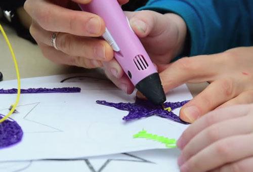 мастер-класс по рисованию 3D ручками