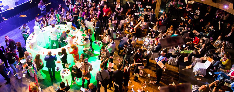 Если на мероприятии много гостей: 9 идей для организации «активного» пространства