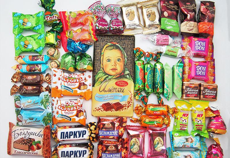 Набор сладостей в подарок