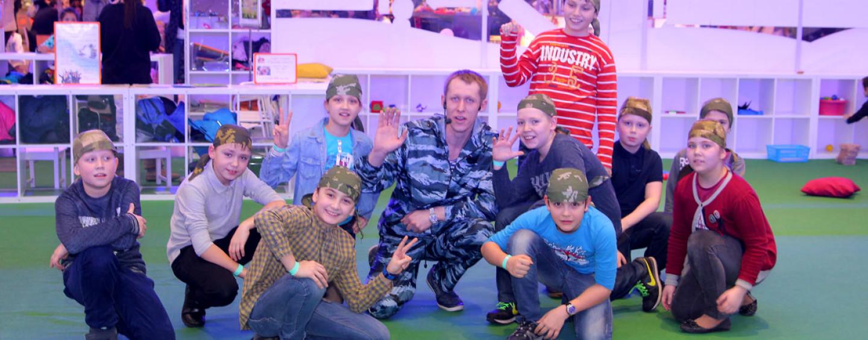 Милитари Клаб: «школа выживания» для молодых бойцов от 5 до 12 лет