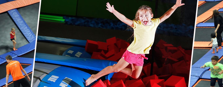 День рождения в батутном центре: загадай желание в воздухе