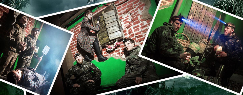 Квест-спектакль «Вий»: интерактивная игра с тремя актерами (60 минут, до 32 человек)