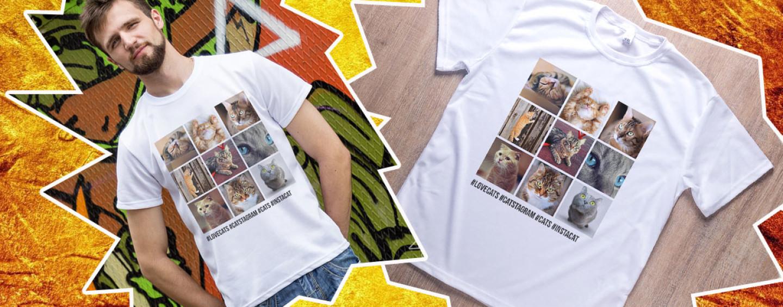 Как заказать футболку с фотографиями из социальных сетей: пошаговая инструкция