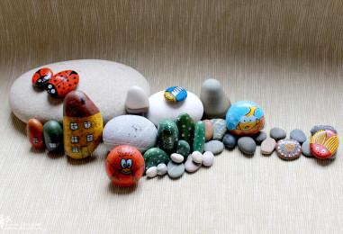 Роспись камней: советы по проведению мастер-класса для детских аниматоров