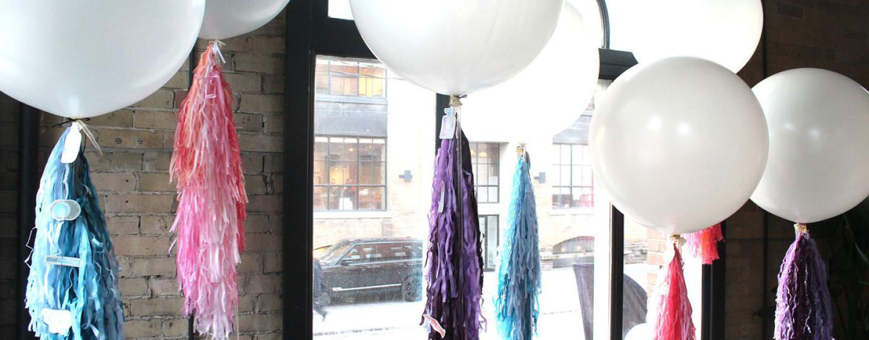 Большие, очень большие и гигантские шары с гелием для оформления праздника