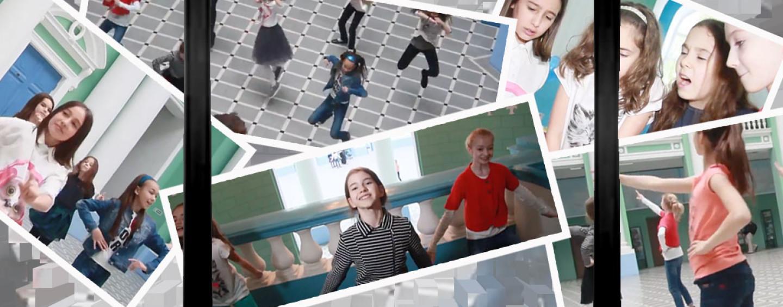 Съемки клипа: детский день рождения в творческом формате