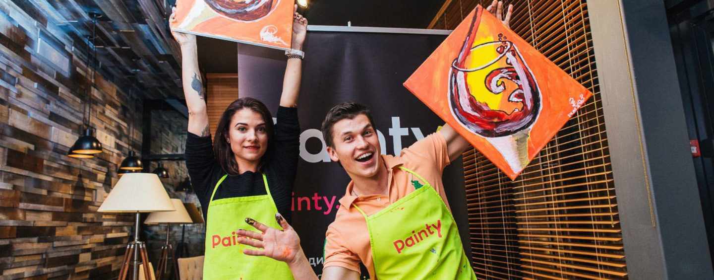 Painty: веселые арт-вечеринки для корпоратива, дня рождения и девичника