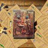 Сценарий домашнего квеста для девочек 11-12 лет «Сокровища египетской принцессы»
