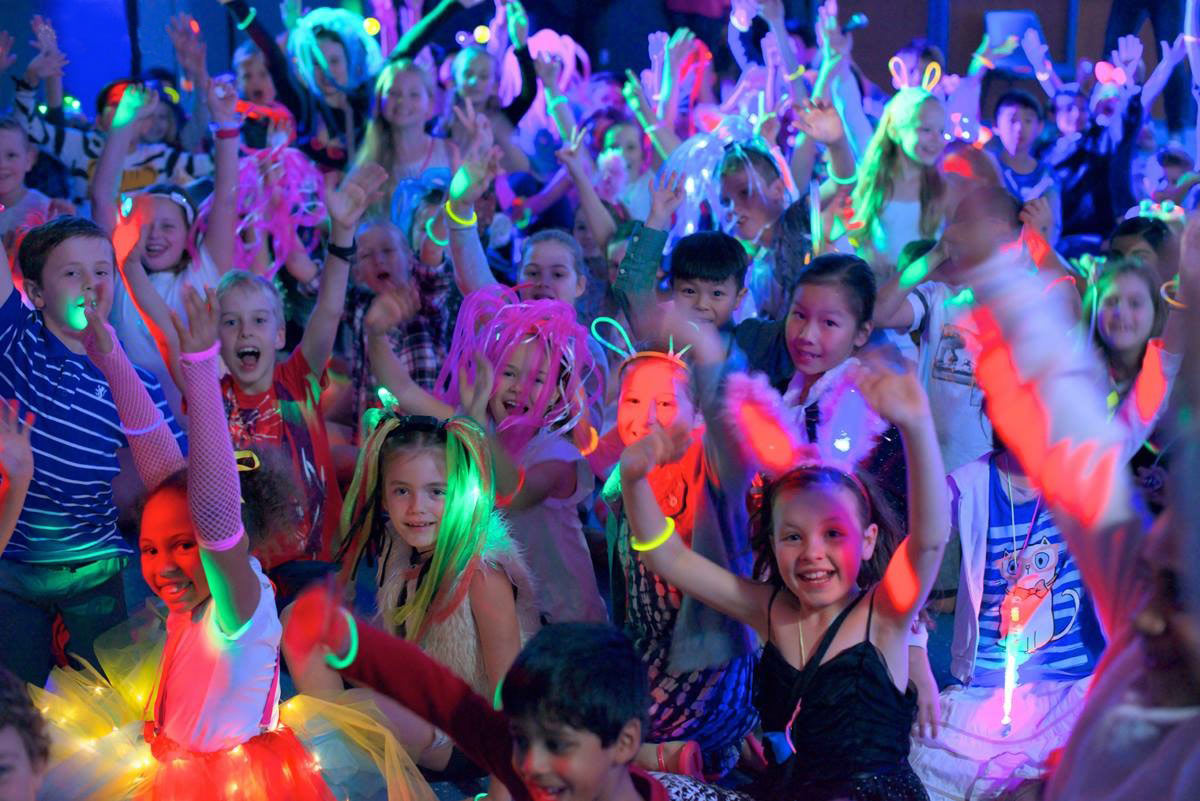 новогодняя дискотека для детей